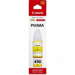 Canon GI-490 Sarı Orjinal ޞişe Mürekkep Kartuş 0666C001