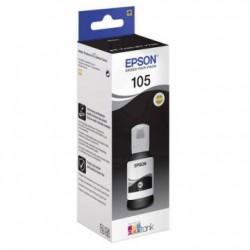 Epson 105 Siyah Orjinal ޞişe Mürekkep Kartuşu C13T00Q140