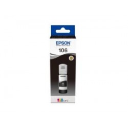 Epson 106 Siyah Orjinal ޞişe Mürekkep Kartuş C13T00R140